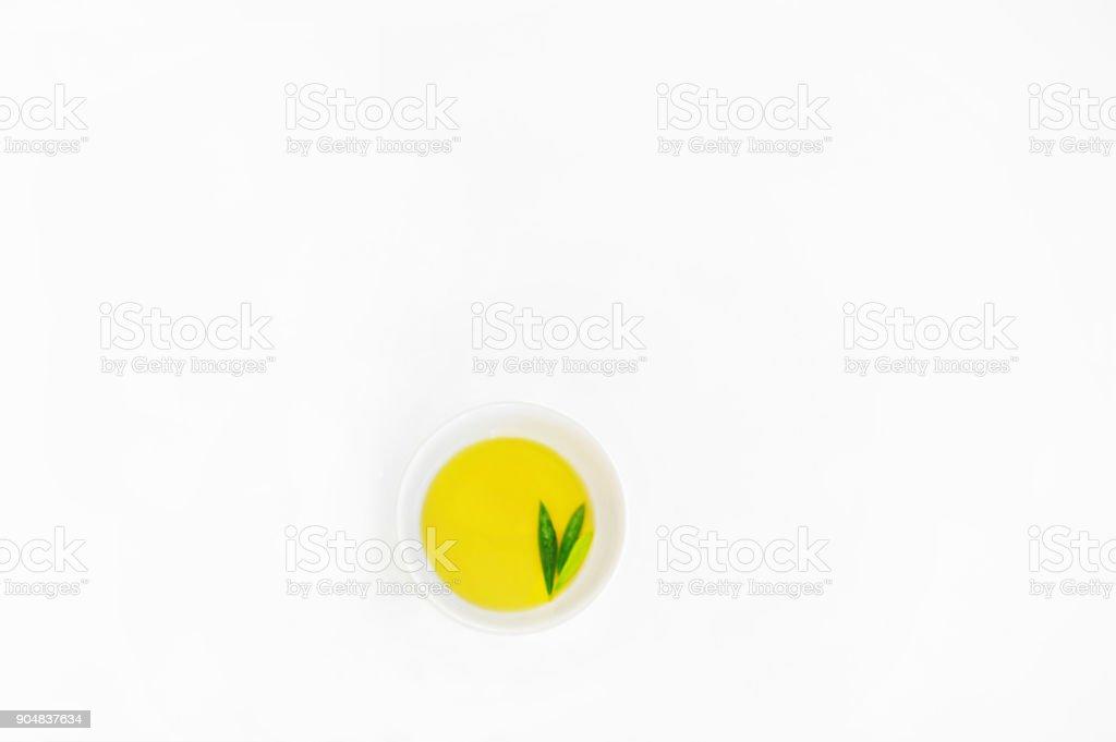 Azeite de oliva extravirgem - foto de acervo