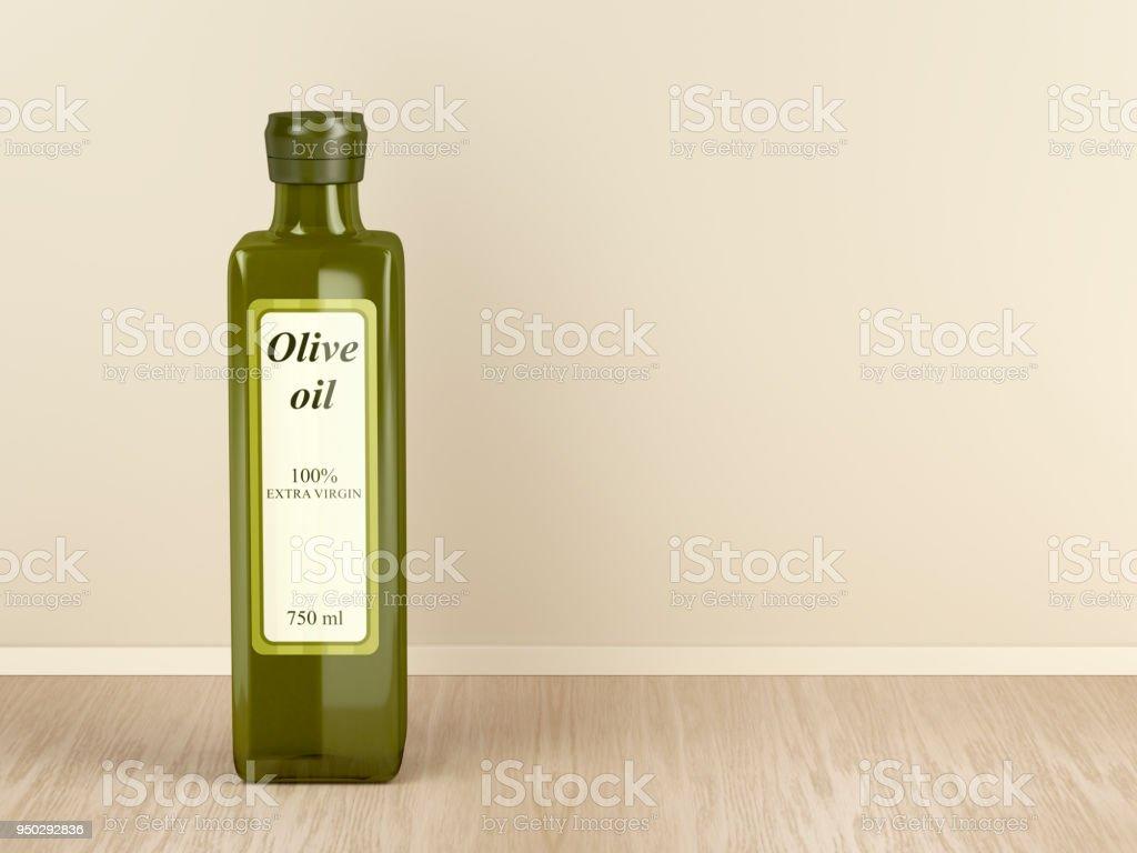 Aceite de oliva Extra virgen - foto de stock
