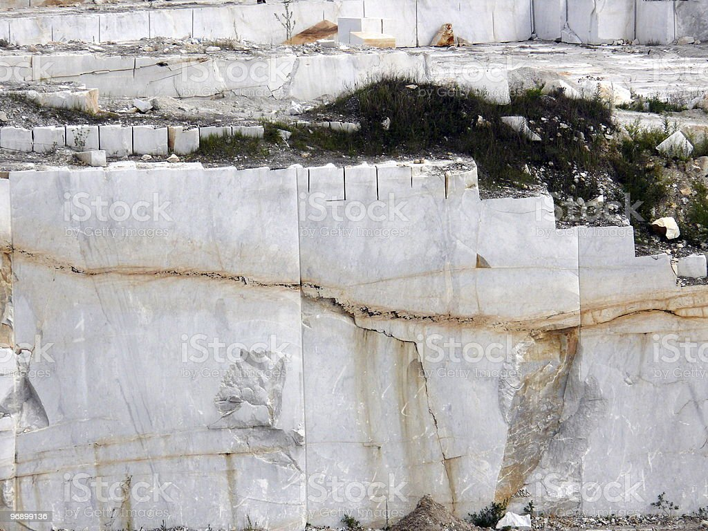 Extraction of a marble royalty-free stock photo