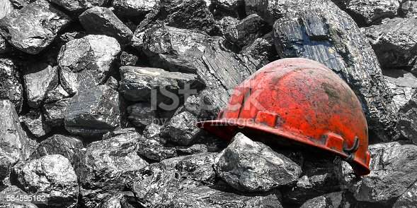 Background design of coal mining.