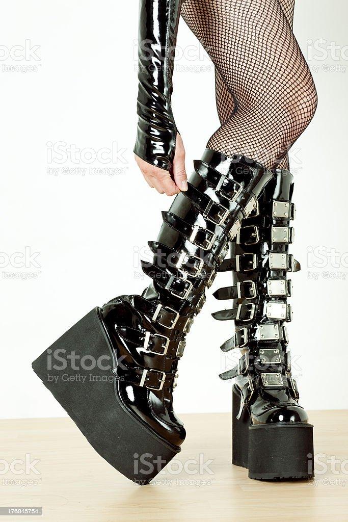 Extravagante Stiefel Stockfoto und mehr Bilder von