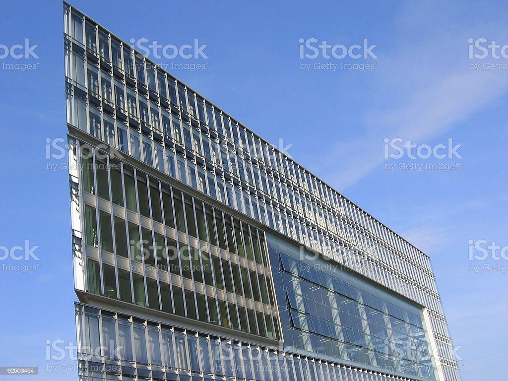 Extreme architecture Hamburg royalty-free stock photo