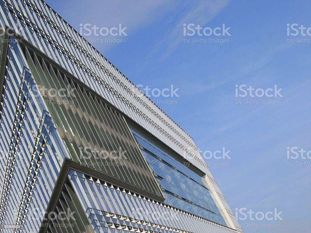 Extreme buidling corner royalty-free stock photo