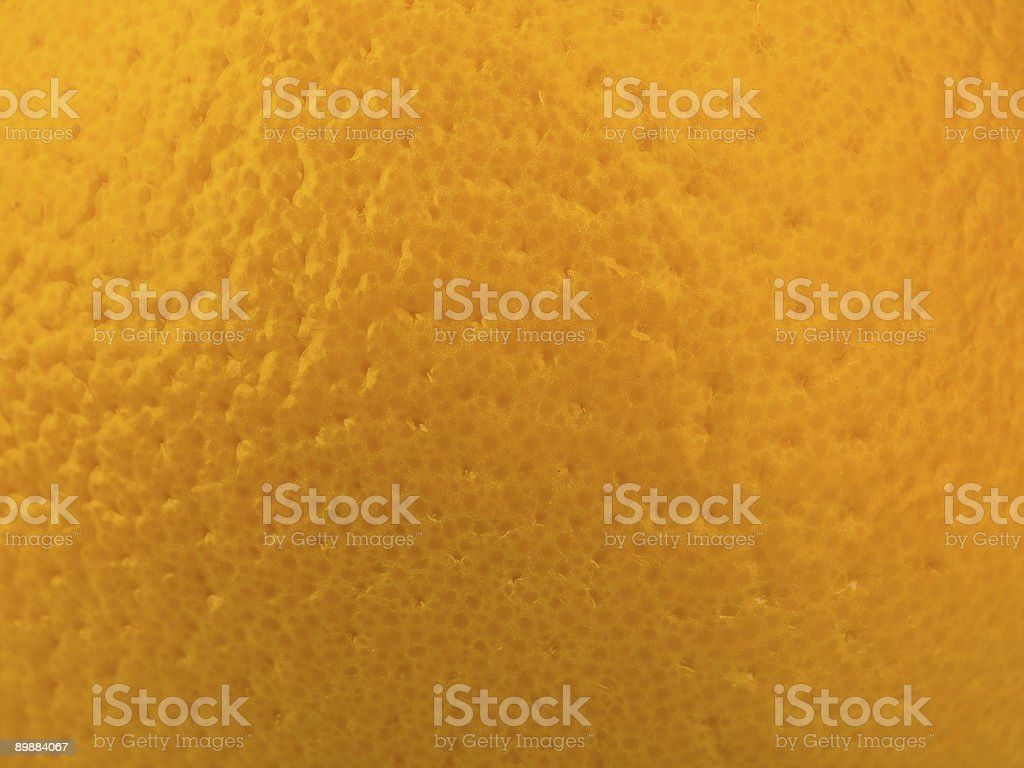 Extreme Closeup of Orange Rind royalty-free stock photo