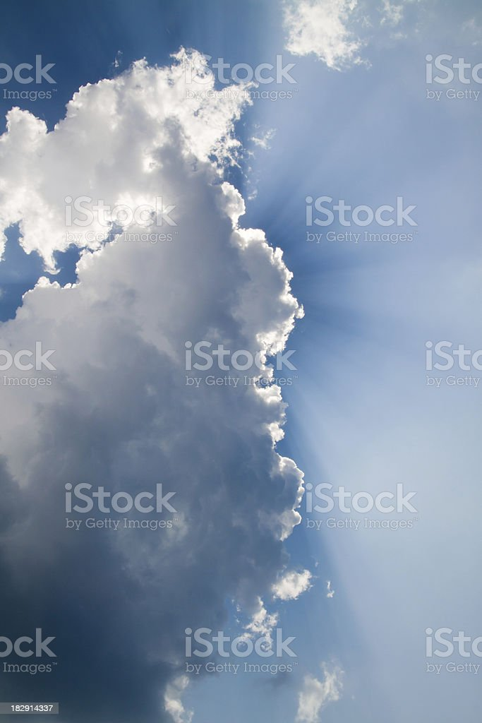 Extreme Cloudscape stock photo