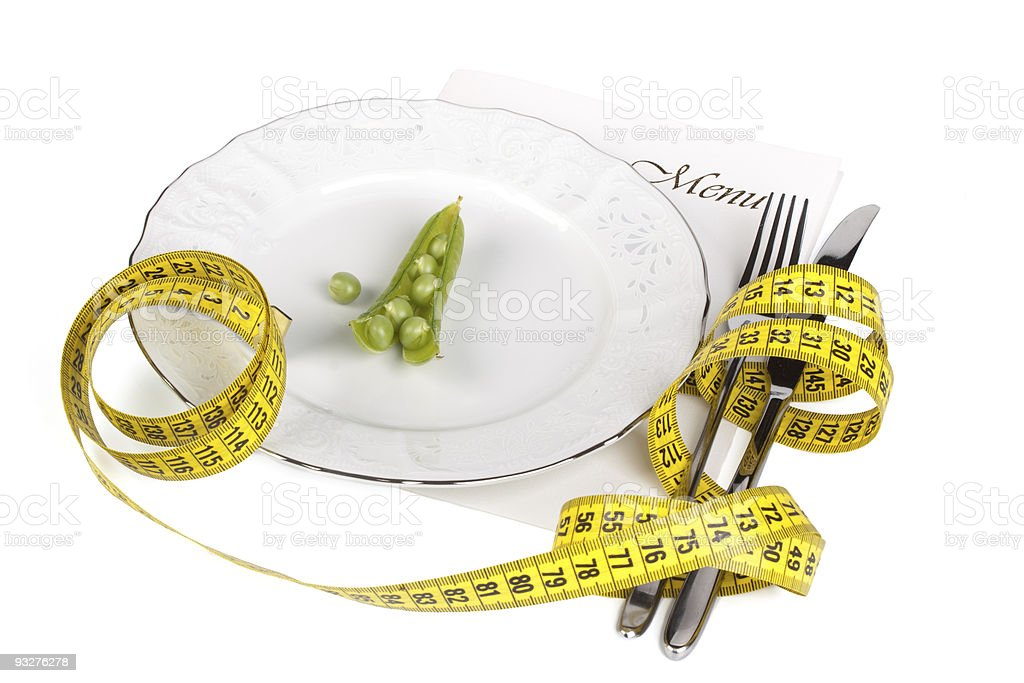 Extreme dieting royalty-free stock photo