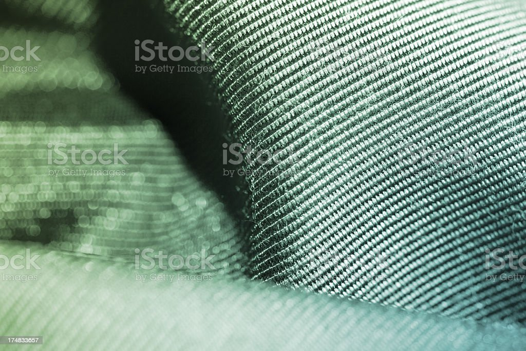 Extreme Fabric Macro royalty-free stock photo