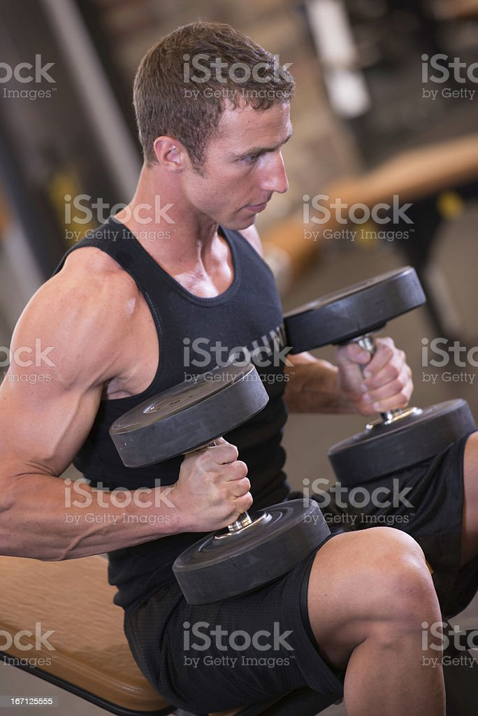 Extreme Fitness royalty-free stock photo