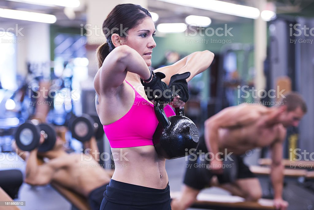 Extreme Fitness royalty-free stock photo