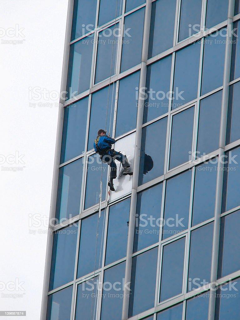 Extreme job stock photo