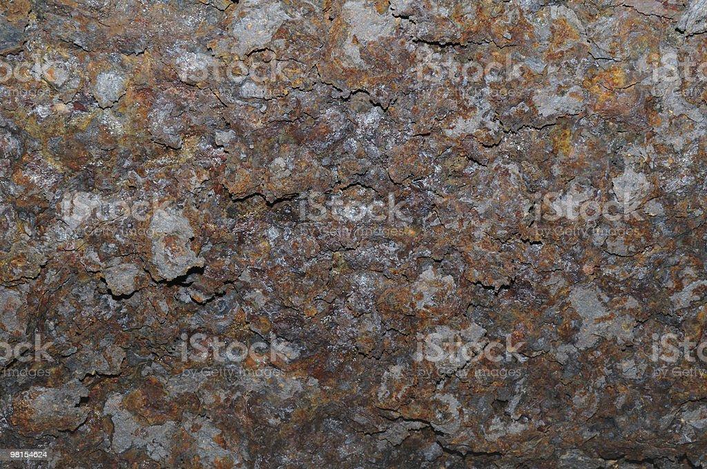Extreme Rust Bridge I Beam royalty-free stock photo