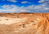Los Flamencos National Reserve. Atacama desert. Chile