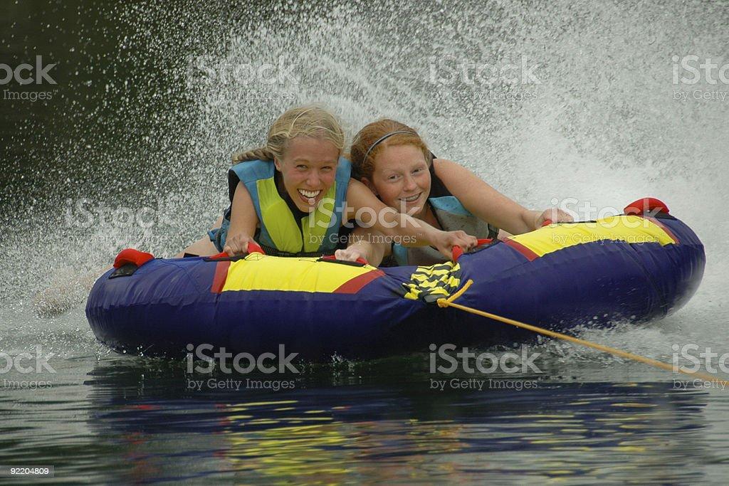 Extreme Tubing! royalty-free stock photo