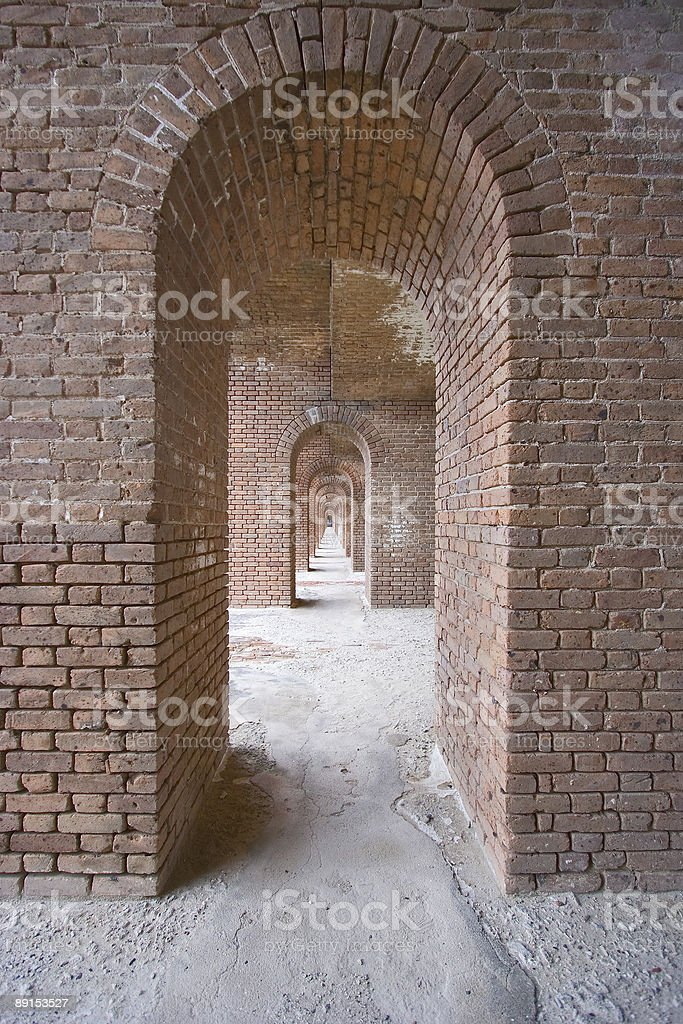 Extreme tunnel vision royalty-free stock photo