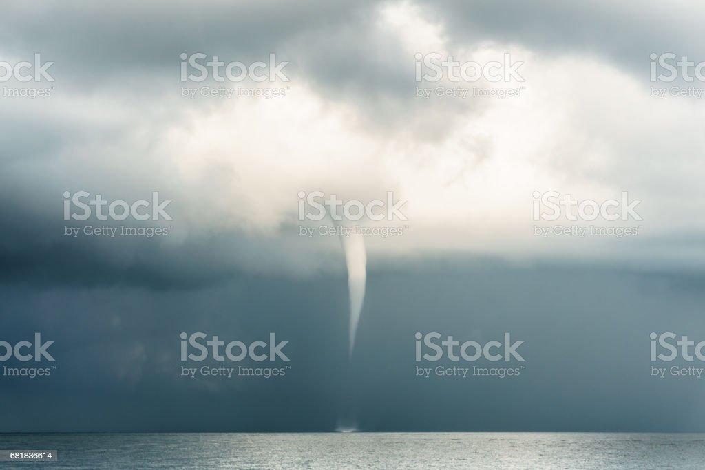 Extreme Weather : Typhoon Super Storm Tornado Cyclome Hurricane stock photo