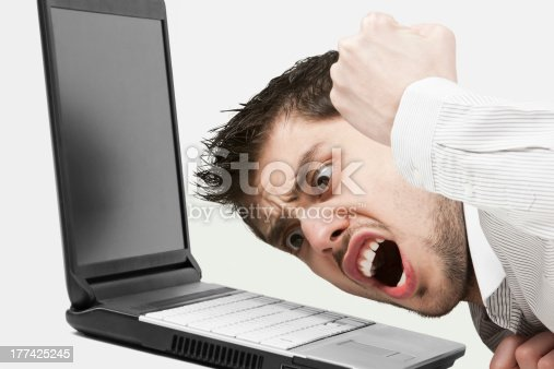 593328060istockphoto Extremely angry businessman 177425245