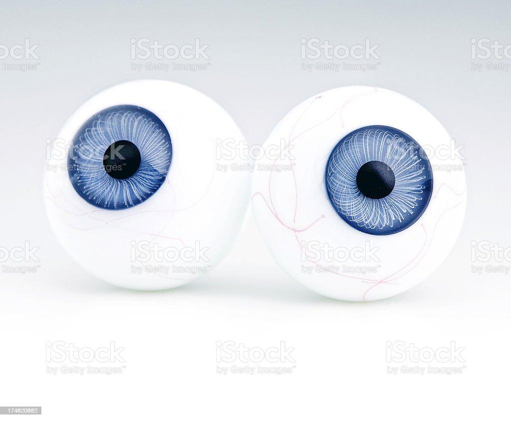 eye ball contact royalty-free stock photo