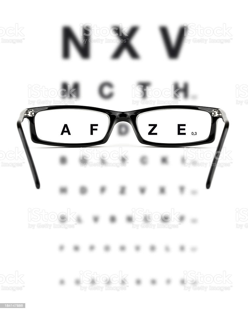 Eye Checkup royalty-free stock photo