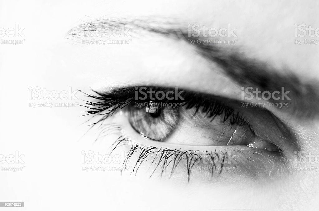 eye close-up royalty-free stock photo