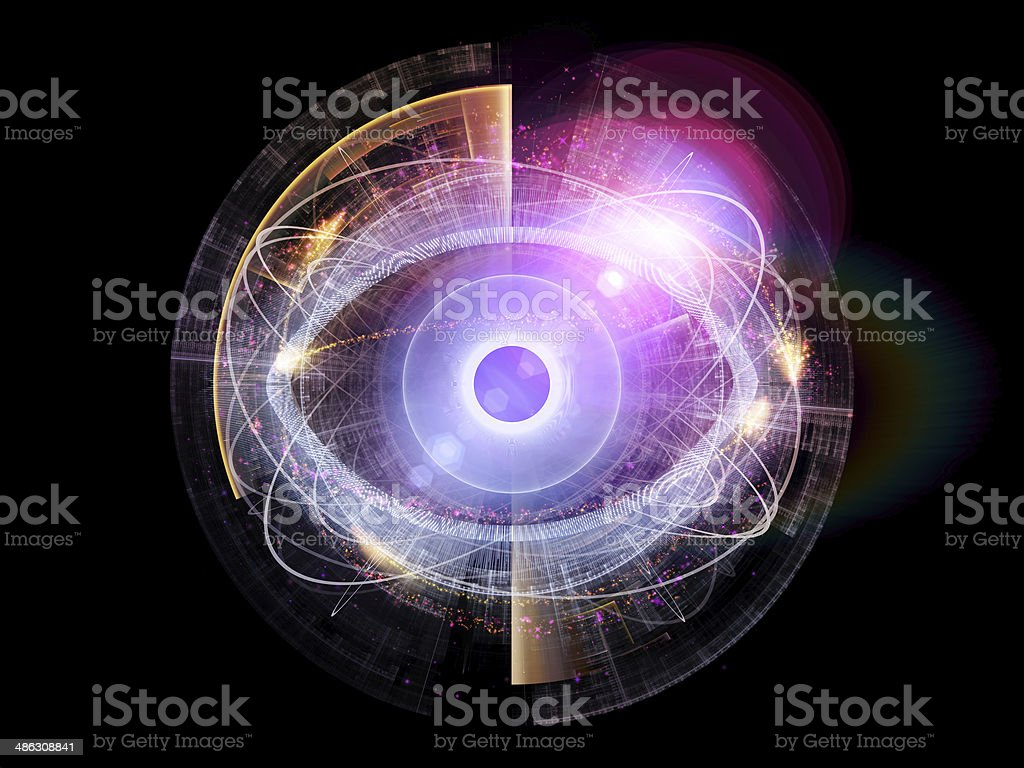 Eye Element stock photo