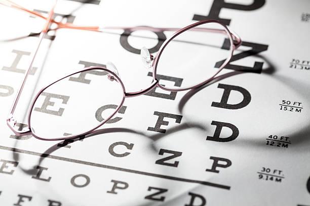 Eye Exam stock photo