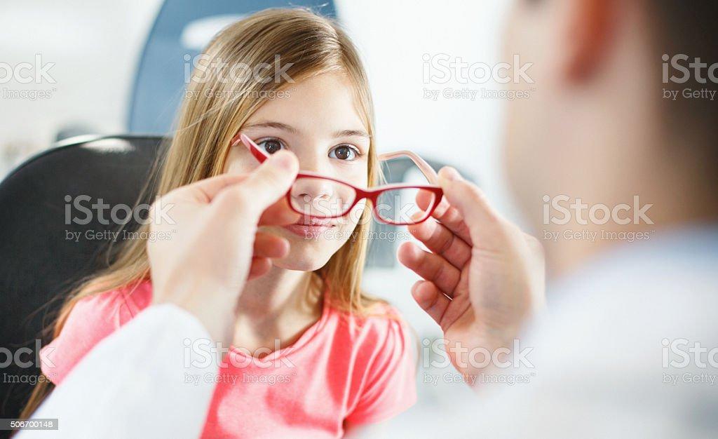 Augenuntersuchungen. – Foto