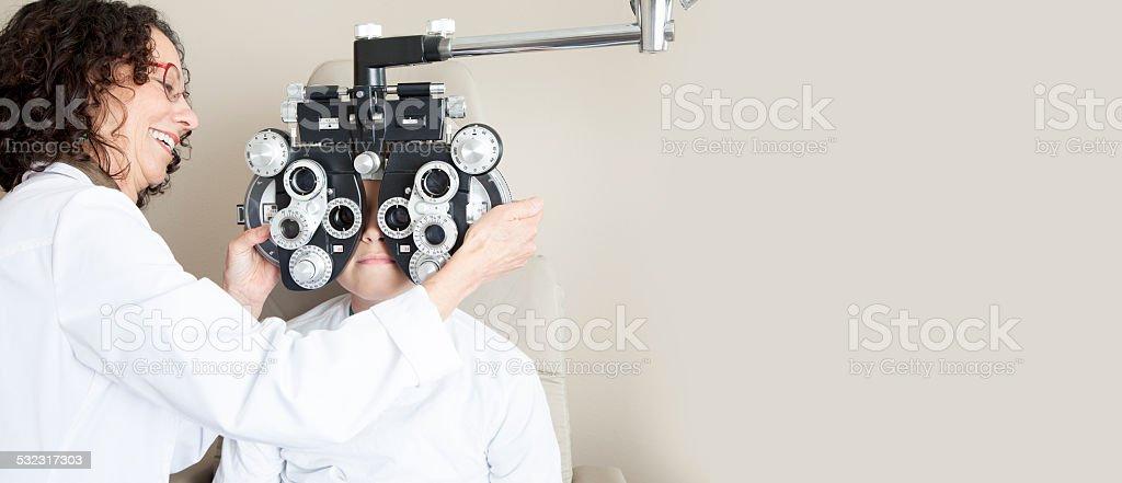 Augenuntersuchungen – Foto