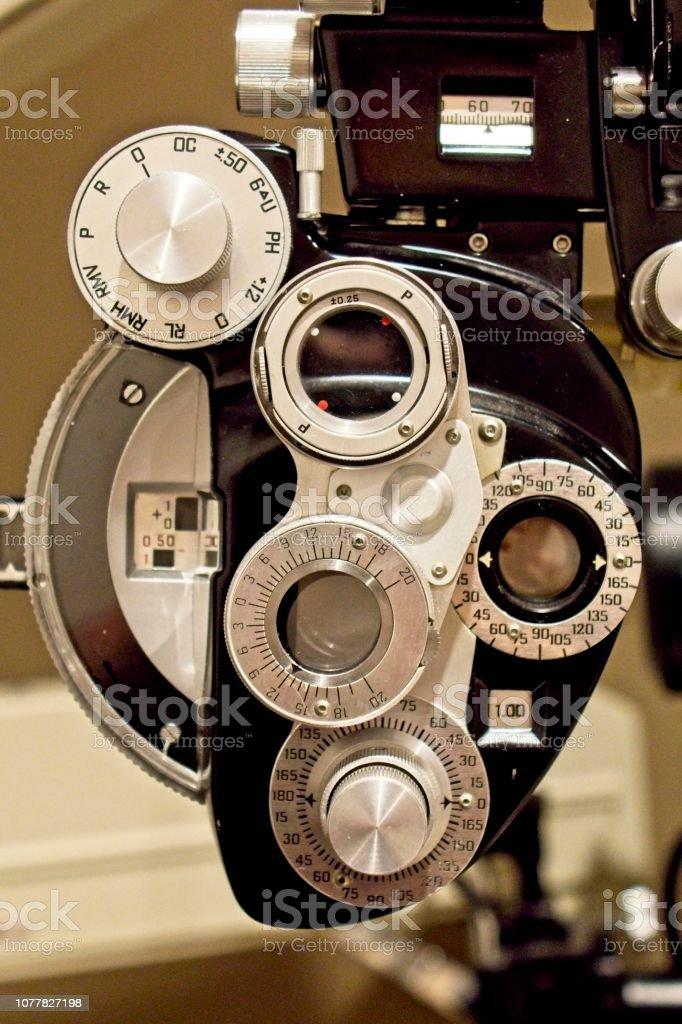 Eye Examine Device stock photo