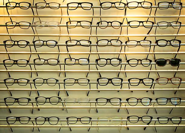 Brillen-Anzeige – Foto
