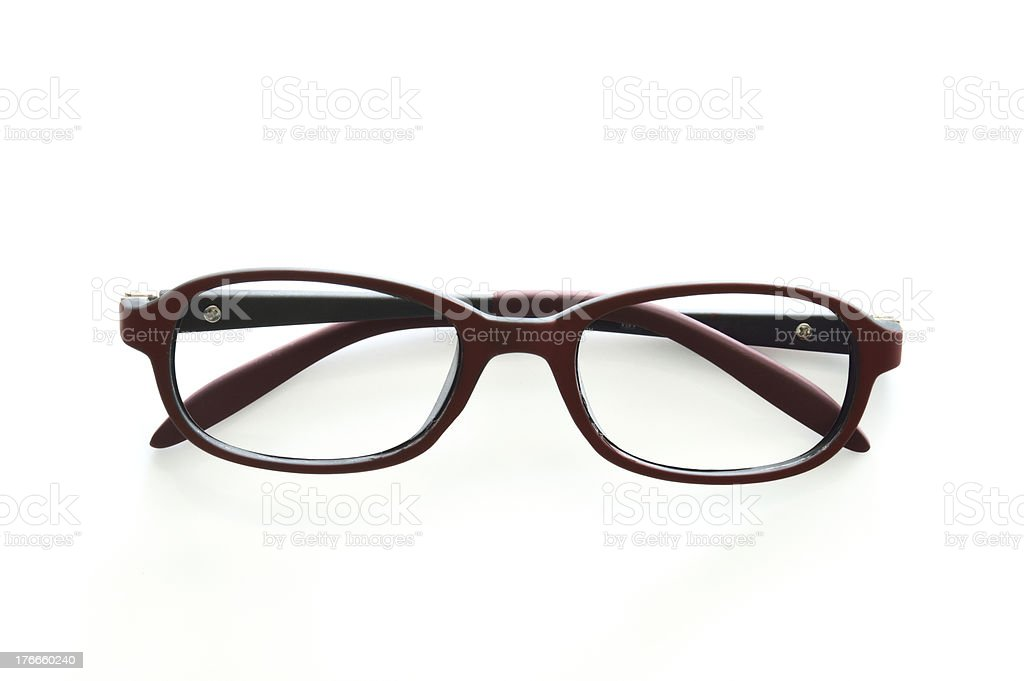 eye glasses royalty-free stock photo