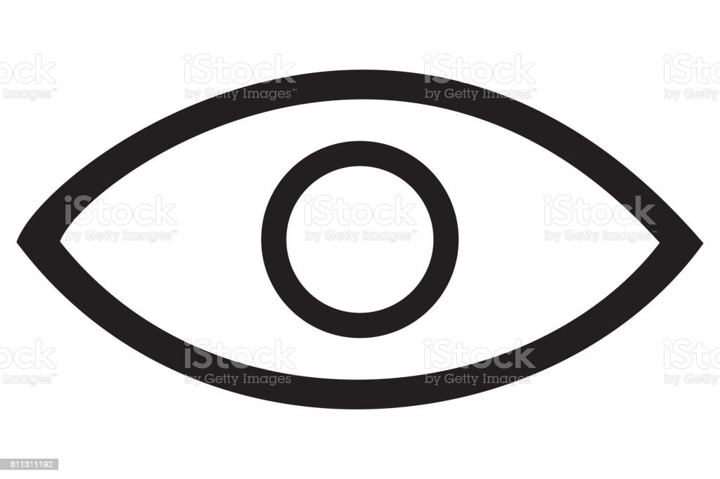 Eye Icon stock photo