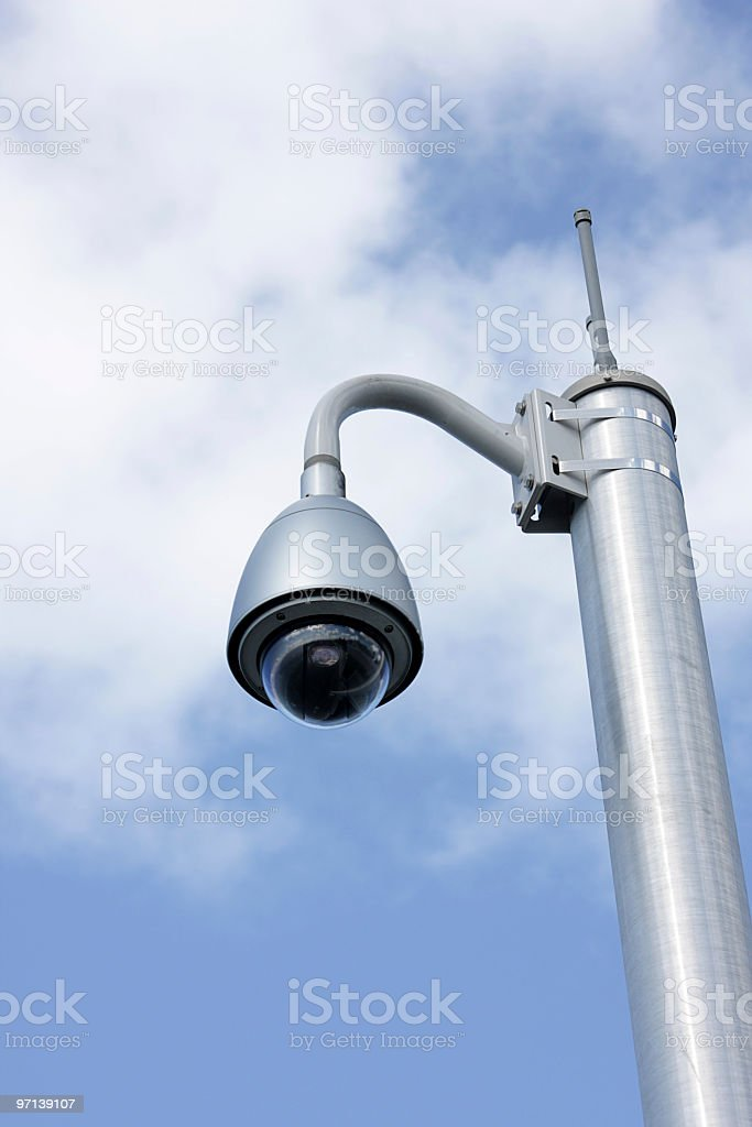 Eye in the Sky 3 royalty-free stock photo