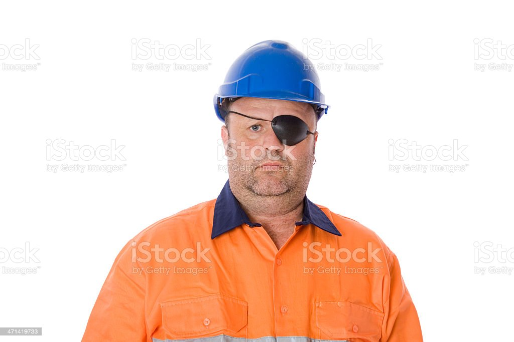 Eye Injury stock photo