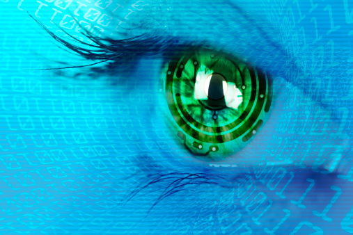 510584002 istock photo eye iris and  circuit binary internet concept 178084348