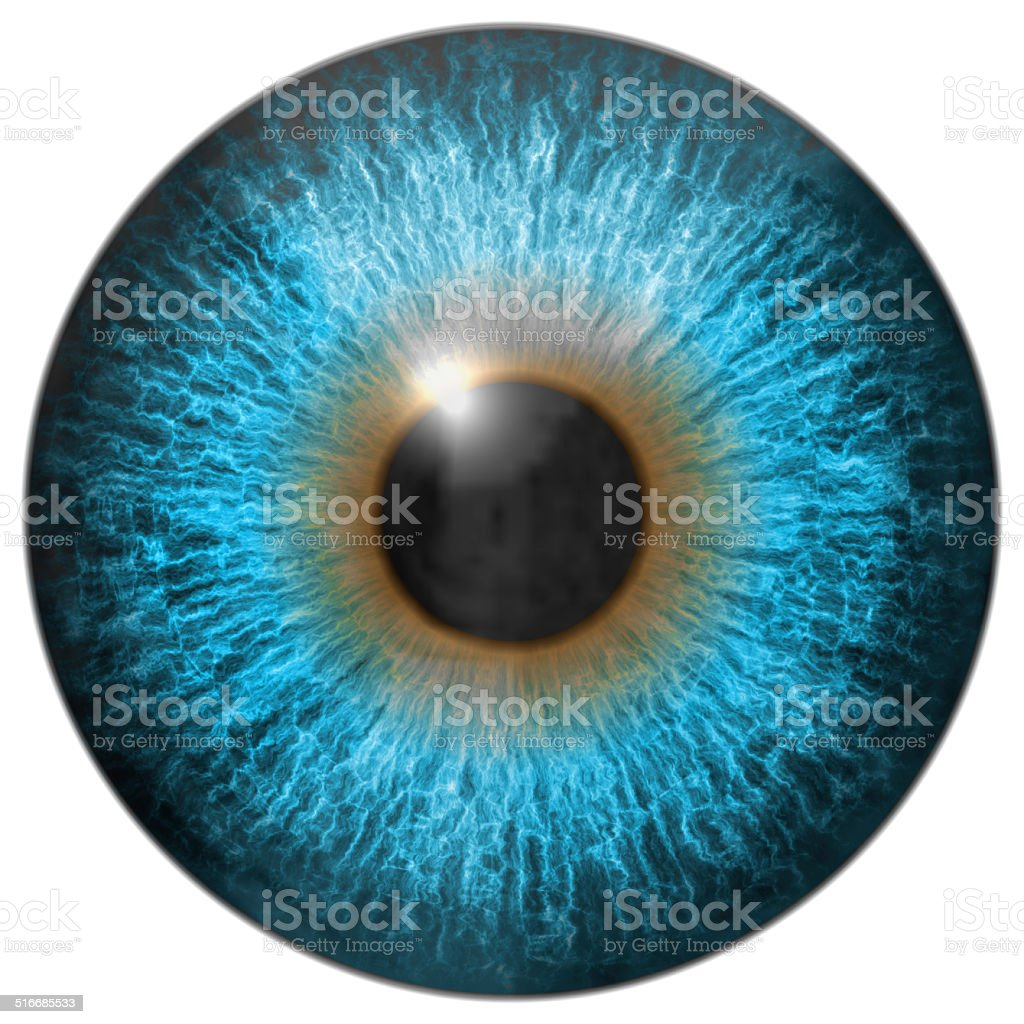 Auge iris generiert hires-Struktur – Foto