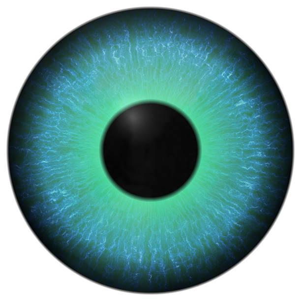 Eye iris generated hires texture stock photo