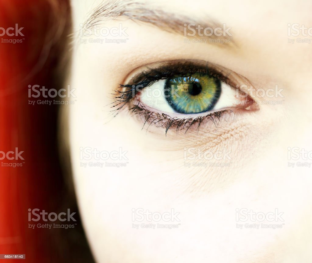 Eye of a woman – Foto