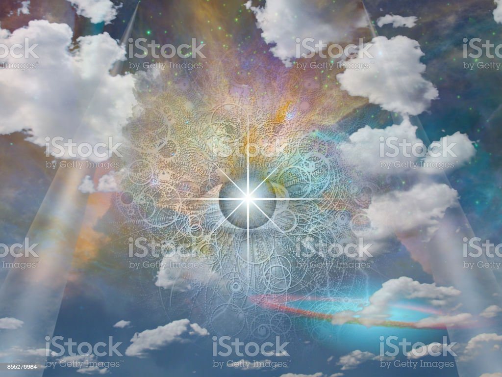 Eye of God - Royalty-free Abstract Stock Photo
