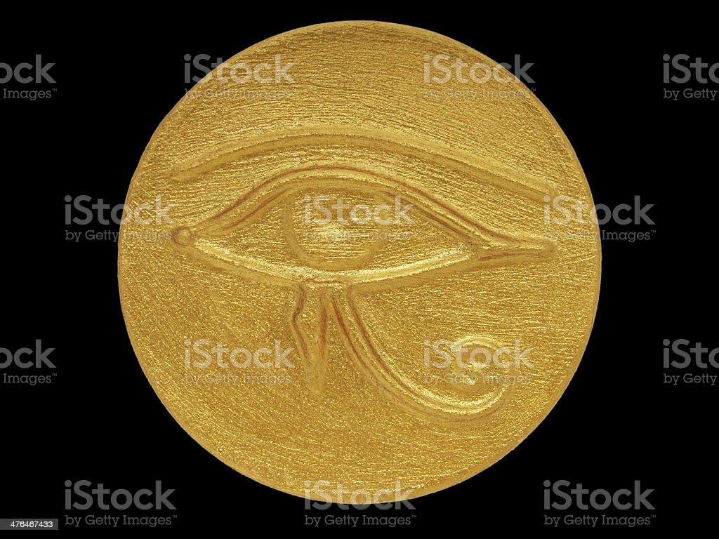 eye of Horus stock photo