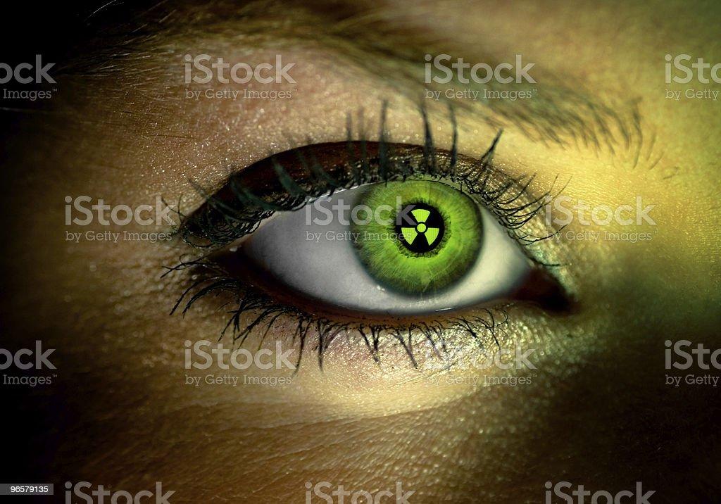 eye of human royalty-free stock photo