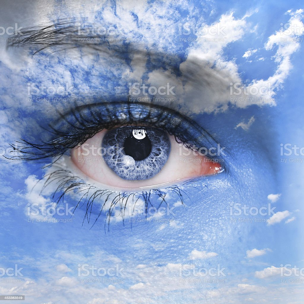 Eye of the God - Royalty-free Adult Stock Photo