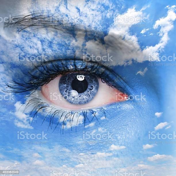 Eye Of The God Stock Photo - Download Image Now