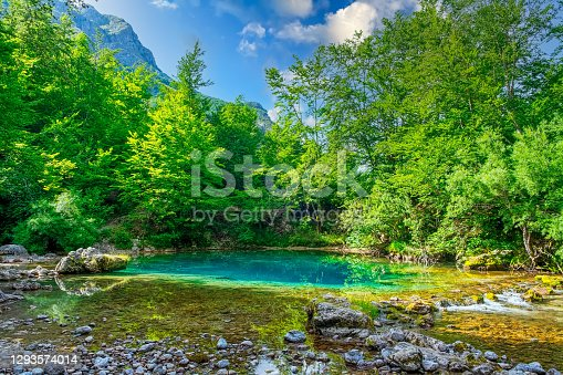 Eye Of The Skakavica - National Park Prokletije, Montenegro, Europe