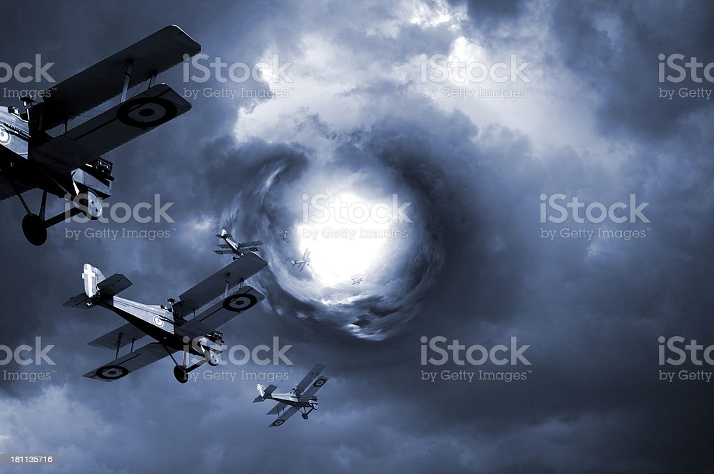 Eye of the storm royalty-free stock photo