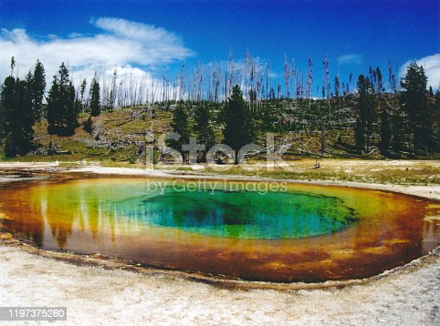 istock Eye of Yellowstone 1197375260