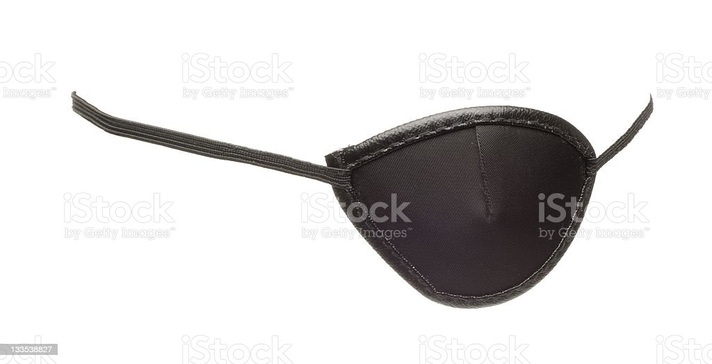 Eye Patch royalty-free stock photo