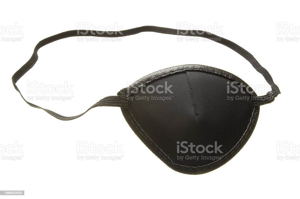 Eye Patch stock photo