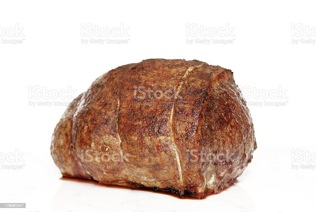 Eye Round Roast Beef stock photo