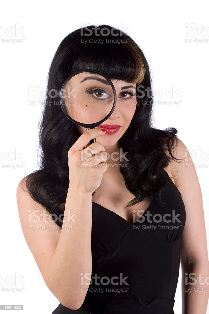 Eye see you royalty-free stock photo