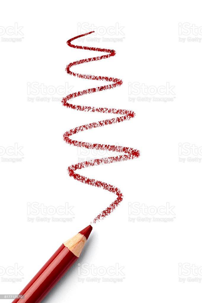 eye shadow pencil make up beauty stock photo